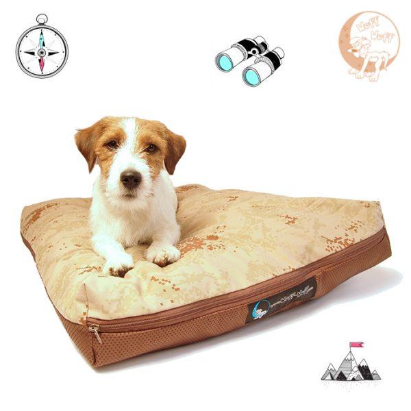 Maskirni krevet za pse