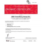 CBD ulje - Certifikat o organskom proizvodu
