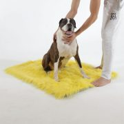 Faux Fur Dog Car Mat