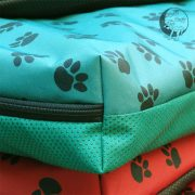 Paws green dog bed