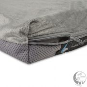 Plush dog bed - changeable cover
