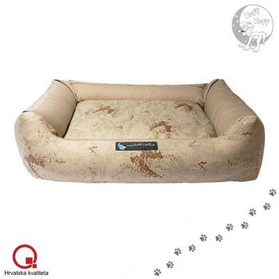 Teddy krevet za pse bang bang brown