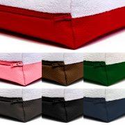 Boje podloge: crvena, roza, smeđa, zelena, siva, crna, plava