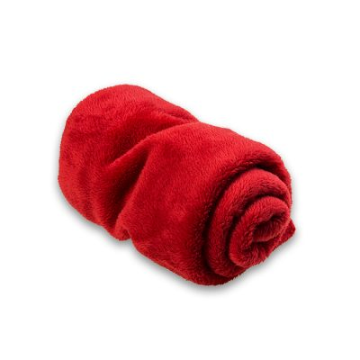 dog bed pillow red