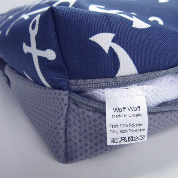 nautical dog bed